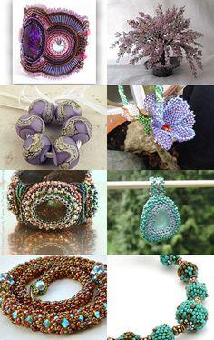 --Pinned with TreasuryPin.com Appreciation, Crochet Earrings, Beads, Etsy, Jewelry, Beading, Bead, Jewels, Pearls