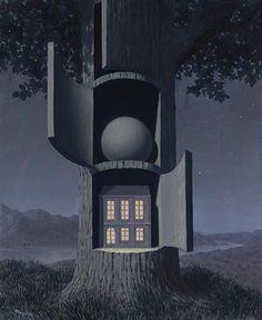 René Magritte - La Voix du Sang, 1947 : ⚪️More At FOSTERGINGER @ Pinterest