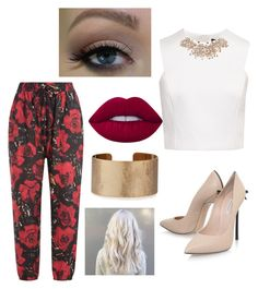 """""""Untitled #19"""" by melodies-and-harmonize on Polyvore featuring Anna Sui, Ted Baker, Casadei, Ultimate, Lime Crime and Panacea"""