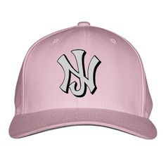 New Jersey NJ Embroidered Baseball Cap