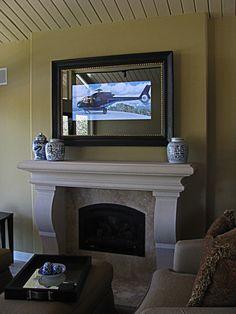 TV Mirror with Napa Style