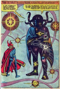 Steve Ditko's Doctor Strange - inspired me as a kid! So clever!