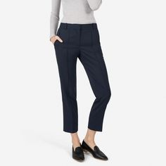 Everlane | The GoWeave Crop Trouser