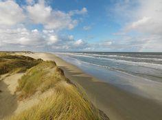 Eindeloos mooi strand op Terschelling