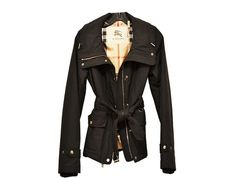 Burberry - Outdoor Jacket - Black - Size 4