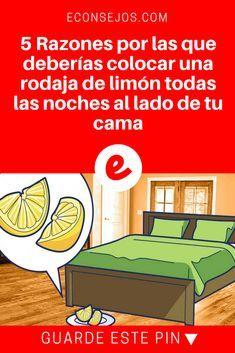 Beneficios del limon   5 Razones por las que deberías colocar una rodaja de limón todas las noches al lado de tu cama   5 Efectos y beneficios que produce dormir con una rodaja de limón al lado