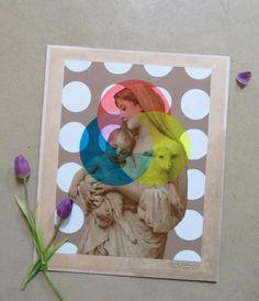 Artwork  RGB Trinitas  Re-painted Madonna by TigerlilyDesignStore