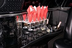 Celebrate in style by booking our luxurious limousine.