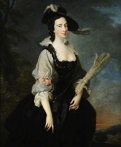Lady Lucy Manners Duchess of Montrose by Thomas Hudson and Joseph van Aken, see other ladies in the same costume nearby on this board. 18th Century Dress, 18th Century Costume, 18th Century Fashion, Noir Color, Lucy Dresses, Joseph, Academic Art, Best Portraits, Tumblr Outfits