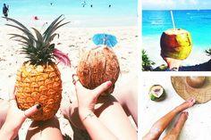ideias-de-fotos-na-praia-criativas-agua-de-coco