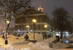 Boston Beauty shot- pre-blizzard conditions. #wcvb