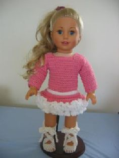 Ballet Outfit for American Girl Doll