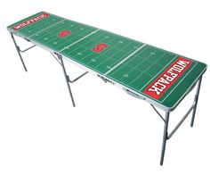 NFL 2 x 8 Tailgate Pong Table - You'll be the talk of the football tailgating crowd with your NFL Mini Table Tennis Table. The fun will be served up at your next tailgate party with. Denver Broncos, Seattle Seahawks, Pittsburgh Steelers, Seahawks Gear, Nfl Seattle, Beer Pong Tables, Ping Pong Table, Cincinnati Bengals, Indianapolis Colts