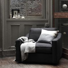I can see this in my study for my reading nook -