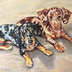 Happy #nationalpuppyday I am now taking commissions for pet and family portraits. For inquiries please email philiplambertart@gmail.com #petportrait #comissions
