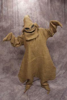 oogie boogie costume diy   Oogie Boogie Man Costume