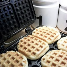 Biscuits on the Waffle iron