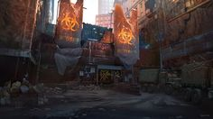 Collaboration where I did the layouts and compositions and had lighting passes by Felix Bauer-Schlichtegroll Done at Opus Artz about a year and a half ago. This image made it into the Division art book to. Apocalypse World, Post Apocalypse, Apocalypse Landscape, Post Apocalyptic Art, Tom Clancy The Division, Zombie Art, End Of The World, Light And Shadow, My Images