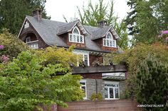 Kurt Cobain's former home in Washington.