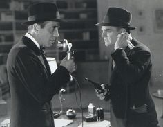 """Angels with Dirty Faces (1938) James Cagney, Pat O'Brien, Humphrey Bogart - Firector: Michael Curtiz - Rocky and Jerry grow up together, Rocky (Cagney) becomes a gangster, Jerry (Bogart) becomes a priest. Good vs evil.  Memorable scene is Rocky being dragged to the electric chair. """"'Morning, gentlemen. Nice day for a murder."""""""