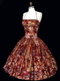 Spotlight On: Vintage Hawaiian Dresses - The Glamorous ...