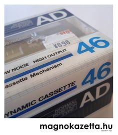 vintage cassette TDK AD46