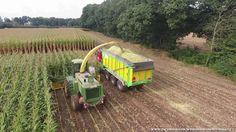 Tolkamp agri service en Sevink agrarische dienstverlening aan het maïsha...