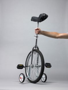 Ruedines para monociclos! ajjaja
