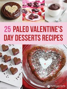 25 Paleo Valentine's Day Desserts Recipes