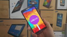 Exclusive Preview - Android 5.0 Lollipop on Samsung Galaxy Note 3