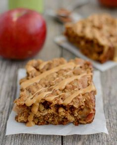 Apple Cinnamon Breakfast Bars | 22 Homemade Breakfast Bar Recipes | Homemade Recipes