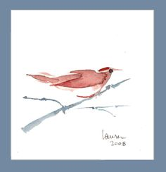 Branch, 'Birds from the Far East', Laura Finley, The Disarranged Studio,