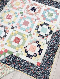 Charm Pack Quilt Patterns, Charm Pack Quilts, Charm Quilt, Barn Quilt Patterns, Pattern Blocks, Block Patterns, Churn Dash Quilt, Beginning Quilting, Easy Quilts
