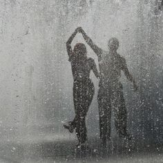 ...learning how to dance in the rain