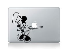 Minny - Macbook Decal Macbook Stickers Macbook pro air Decals  Apple Decal iPad sticker Laptop decals. $6.99, via Etsy.