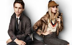 Cara's Best Moments: Cara Delevingne has been the face of Burberry since 2011. Here, she stars in the brand's Spring 2012 campaign with Eddie Redmayne.