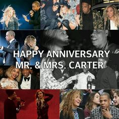 Happy 6th Wedding Anniversary Mr & Mrs Carter