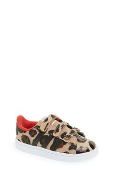 Free shipping and returns on adidas 'Superstar - Leopard' Sneaker (Baby, Walker & Toddler) at Nordstrom.com. Cool leopard patterns update this pint-size version of a classic athletic sneaker, finished with a trefoil logo at the heel for added retro appeal.