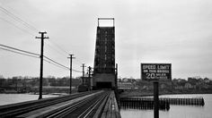 Providence, Rhode Island, 1952 Seekonk River Drawbridge in Providence, Rhode Island, in 1952.  Photograph by Leo King, © 2016, Center for Railroad Photography and Art. King-06-015-001