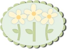 Spring Flower Trio SVG for Sure Cuts a Lot
