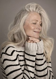 Need inspiration for embracing aging? Take a look at these beautiful women over 60!