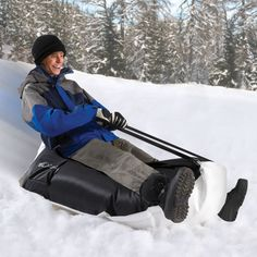 The Bean Bag Sled - $99 Hammacher Schlemmer