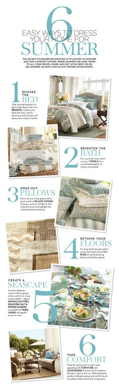 6 Easy Ways to Dress Your Home for Summer | Pottery Barn