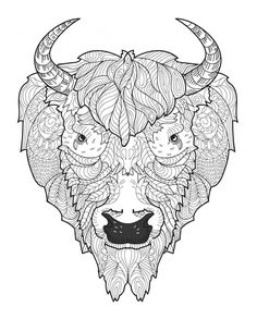 Animal Doodles - Doodle Coloring Pages