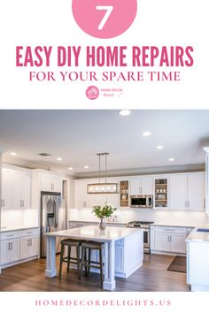 Restaining or repainting bathroom and kitchen cabinets can give your home an upgraded feel for a fraction of the cost. Just be sure to do the proper prep work so that your job has a seamless finish. #DIY #home #decor #homedecor