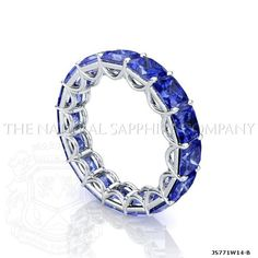 Blue Natural Sapphire Jewelry Engagement Band--- I love this so much!!! I wouldn't wear it for just an engagement ring!! Would also love it in Garnet or Rubies!!