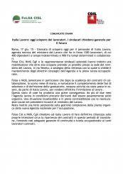Italia Lavoro #lavoro #comunicato #stampa