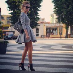 Passion#fashion - Sylwia Majdan dress, Justyna Mariotti shoes, Chanel bag
