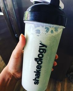 Since I plan on drinking a copious amount of alcohol today I figured I should at least put one thing super healthy into my body. #Shakeology #Greenberry