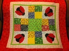 Lady bug quilt by Ann Protz